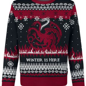 Game Of Thrones Fire And Blood Pull noir/gris/rouge