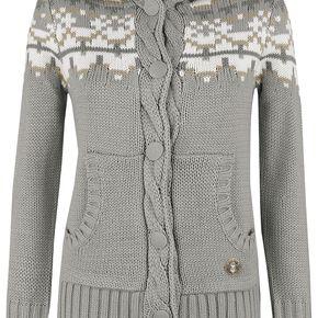 Harry Potter Hermine Cardigan pour Femme gris/beige