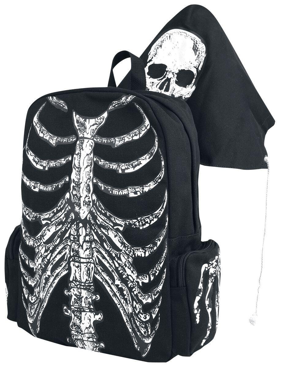 Image of   Banned Skeleton Rygsæk sort