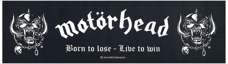 Image of   Motörhead Born To Lose - Runner - Teppichläufer Tæppe sort