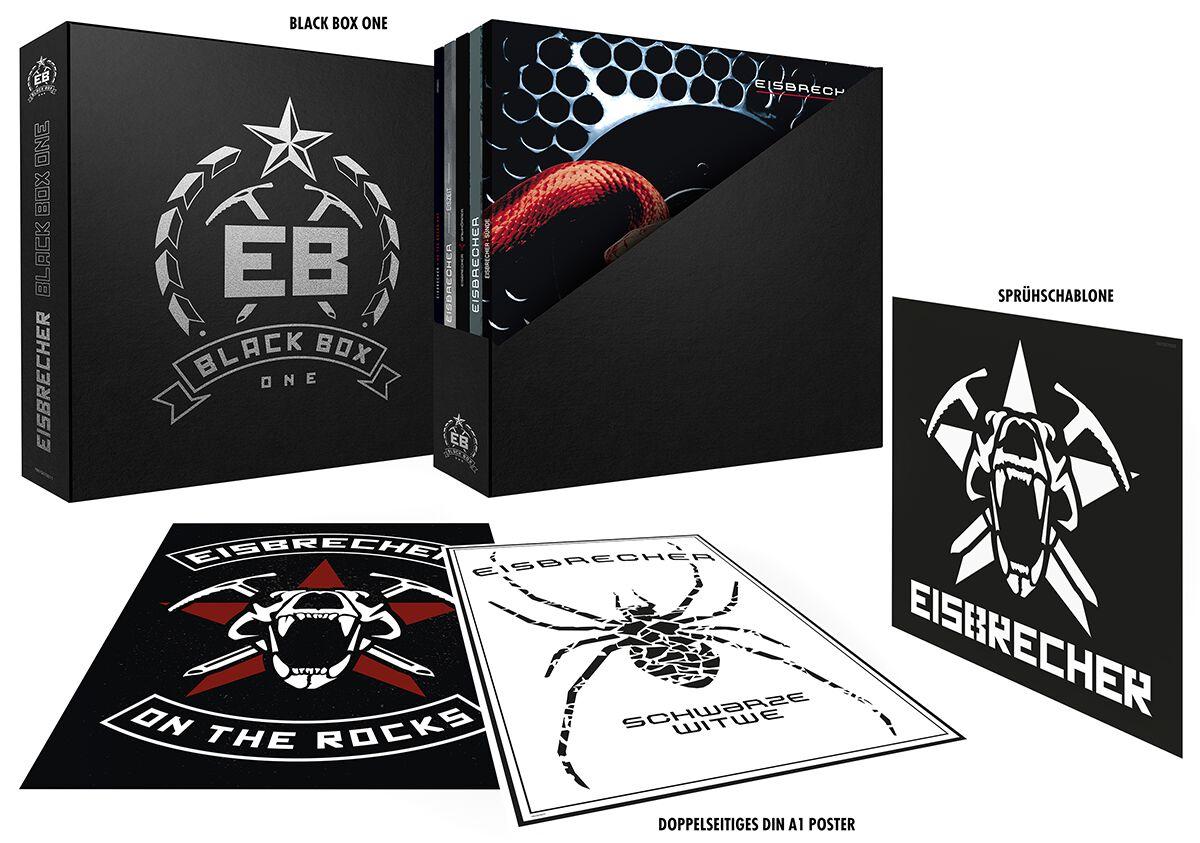 Eisbrecher Black Box One 9-LP Standard