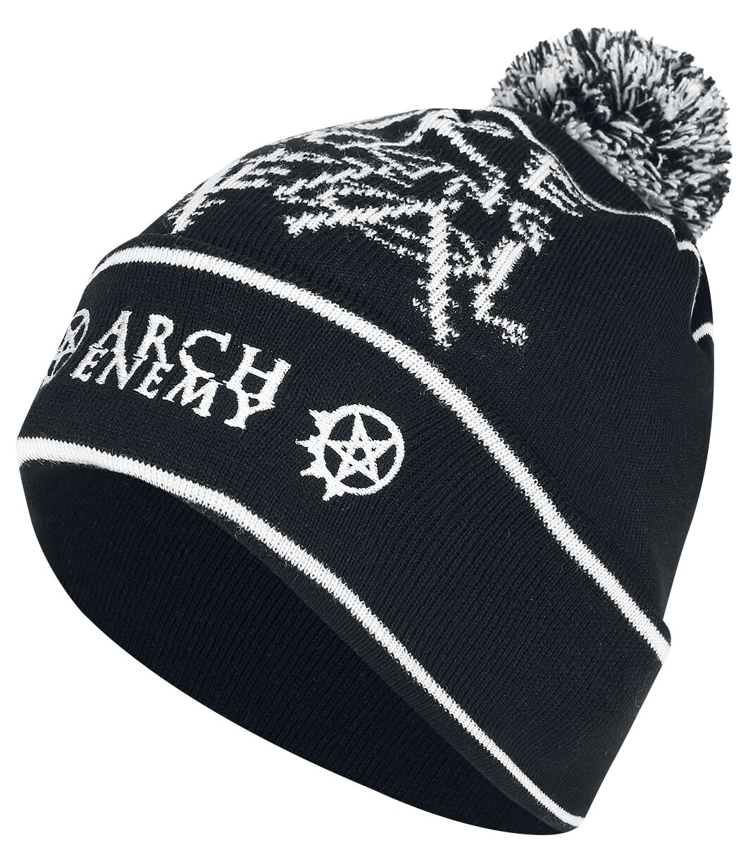 Image of   Arch Enemy Pure Fucking Metal Beanie Beanie sort-grå