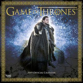 Game Of Thrones Calendrier Mural 2019 Calendrier mural multicolore