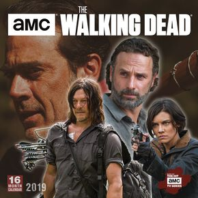 The Walking Dead Calendrier Mural 2019 Calendrier mural multicolore