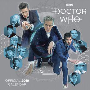 Doctor Who Calendrier Mural 2019 - Classic Edition Calendrier mural multicolore