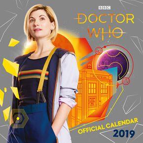 Doctor Who 2019 - Calendrier Mural Calendrier mural multicolore