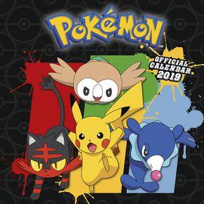 Pokémon Calendrier Mural 2019 Calendrier mural multicolore