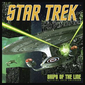 Star Trek Calendrier Mural 2019 - Ships of the Line Calendrier mural multicolore