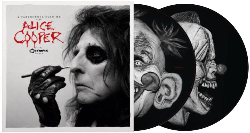 Alice Cooper A paranormal evening at The Olympi...