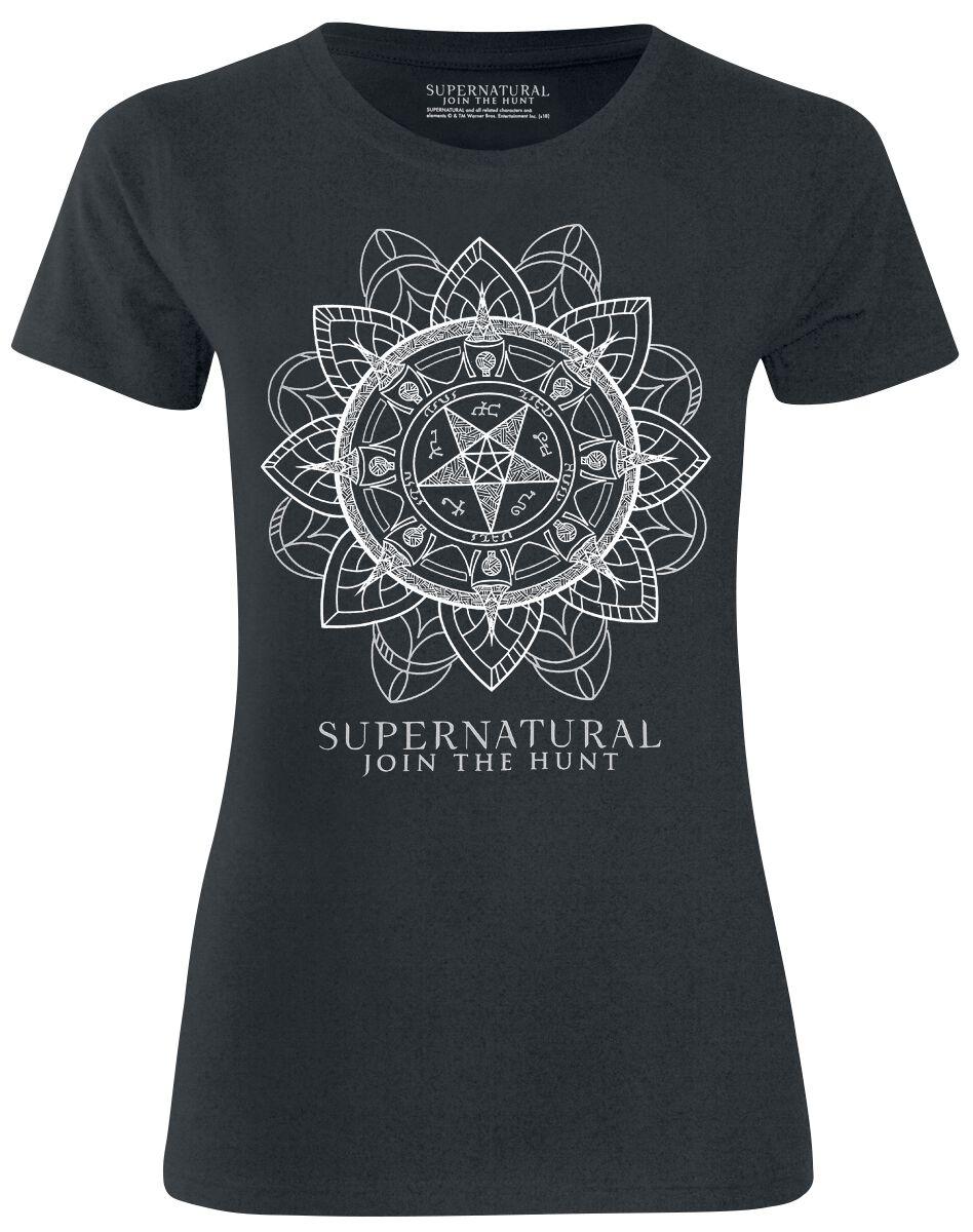 Image of   Supernatural Join The Hunt Girlie trøje sort