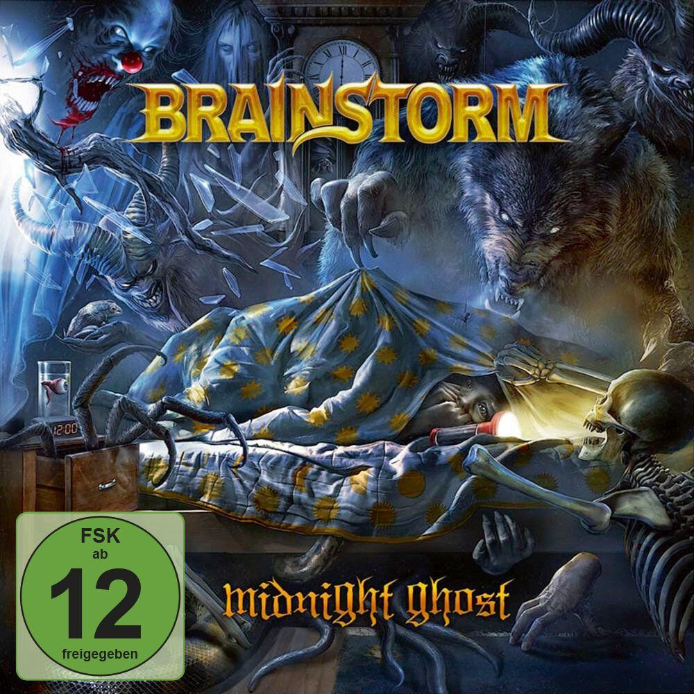 Brainstorm Midnight ghost CD & DVD Standard
