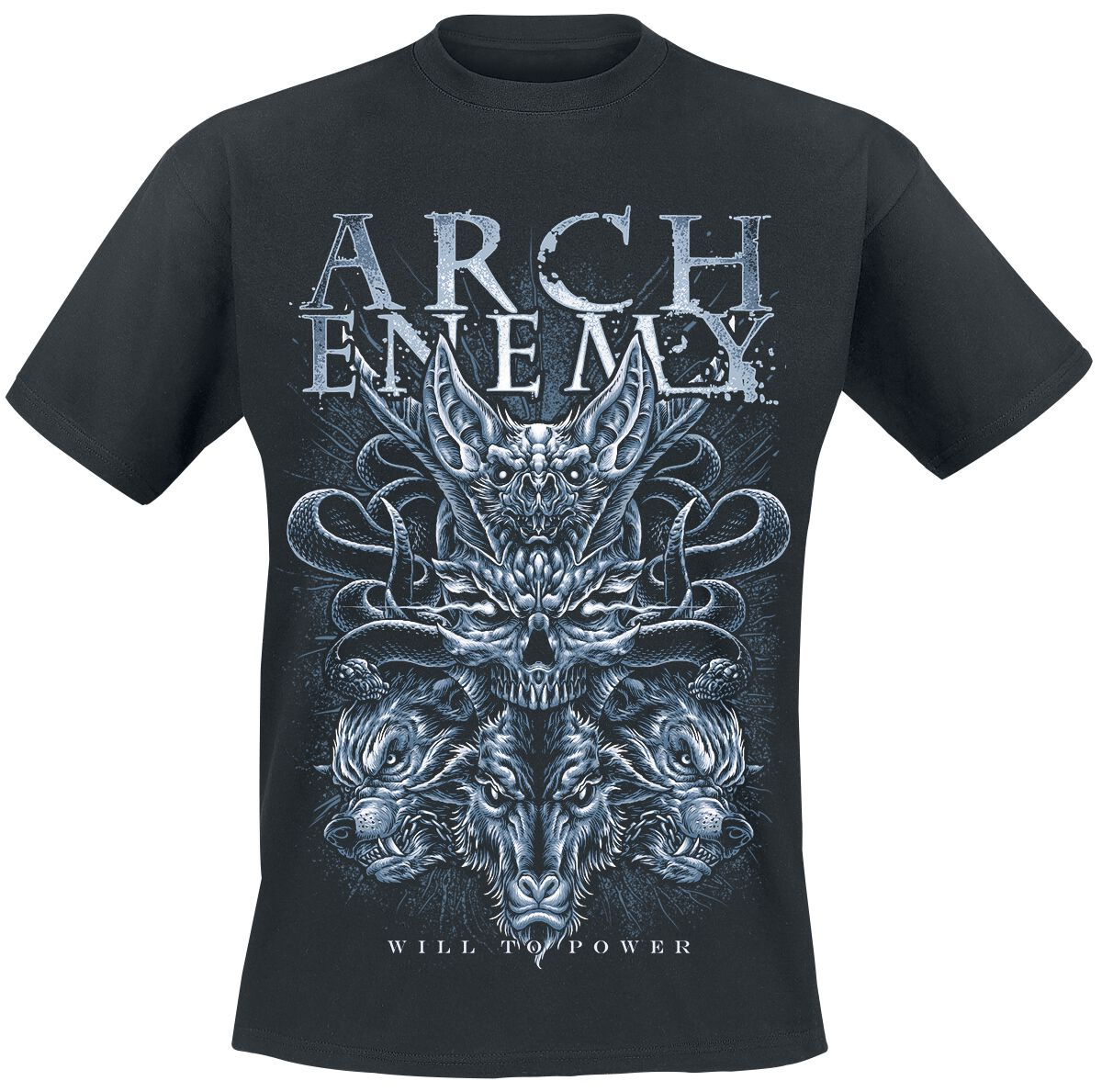 Image of   Arch Enemy Bat T-Shirt sort