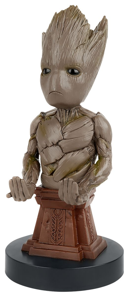 Image of   Guardians Of The Galaxy Cable Guy - Groot Mobilholder multifarvet