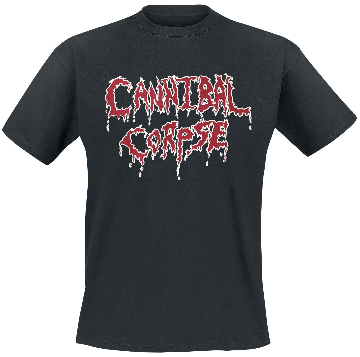 Image of   Cannibal Corpse Classic Logo T-Shirt sort