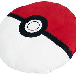 Pokémon Poké Ball Coussin décoratif rouge/blanc