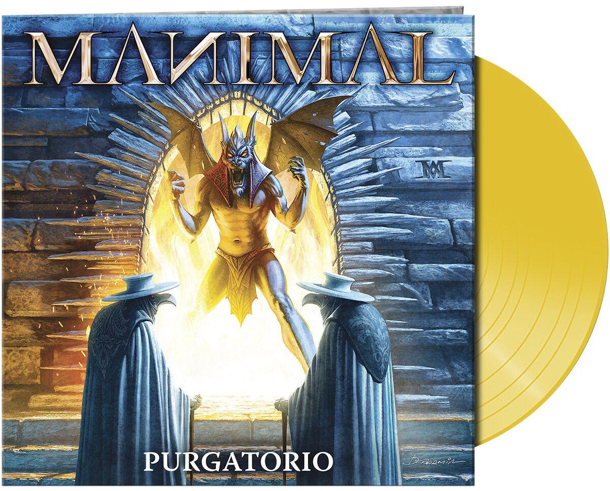 Manimal Purgatorio LP gelb