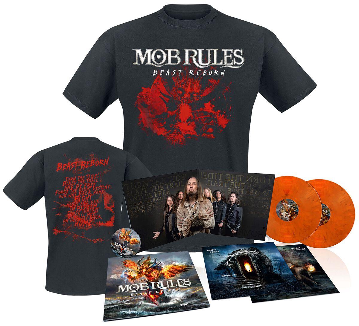 Image of   Mob Rules Beast reborn 2-CD & 2-LP & T-shirt standard