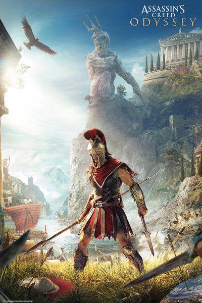 Image of   Assassin's Creed Odyssey Plakat multifarvet