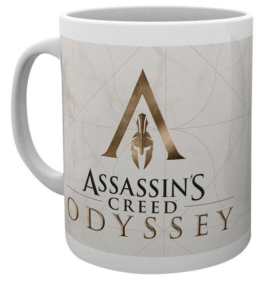 Image of   Assassin's Creed Odyssey - Logo Krus hvid
