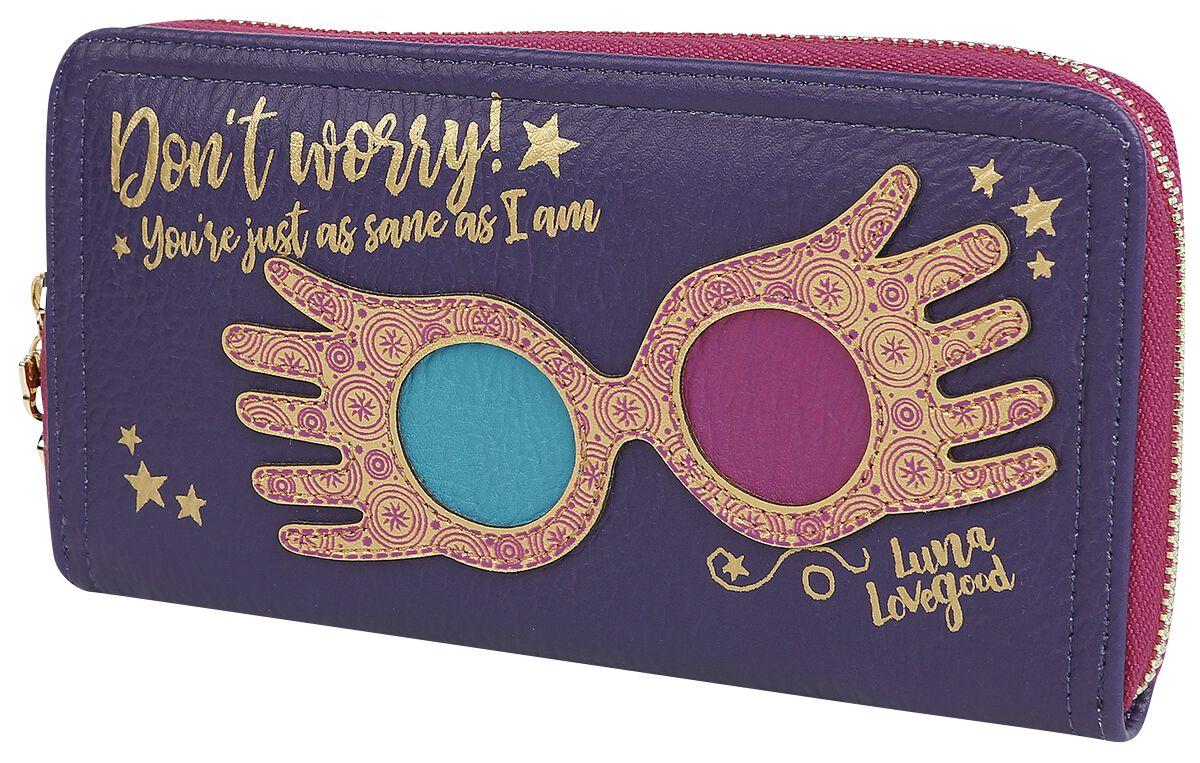 Geldboersen für Frauen - Harry Potter Luna Lovegood Geldbörse lila  - Onlineshop EMP