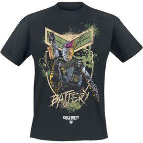 Call Of Duty Black Ops 4 - Battery T-shirt noir
