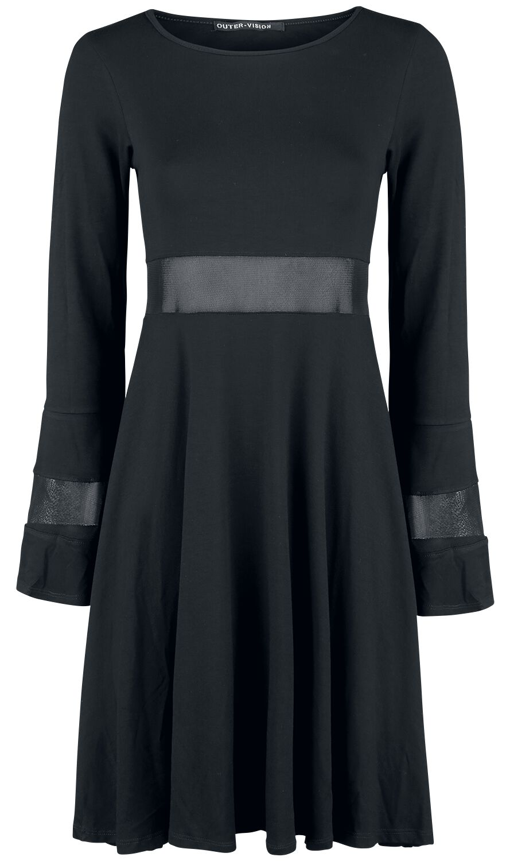 Kleider für Frauen - Outer Vision Angi Dress Kleid schwarz  - Onlineshop EMP