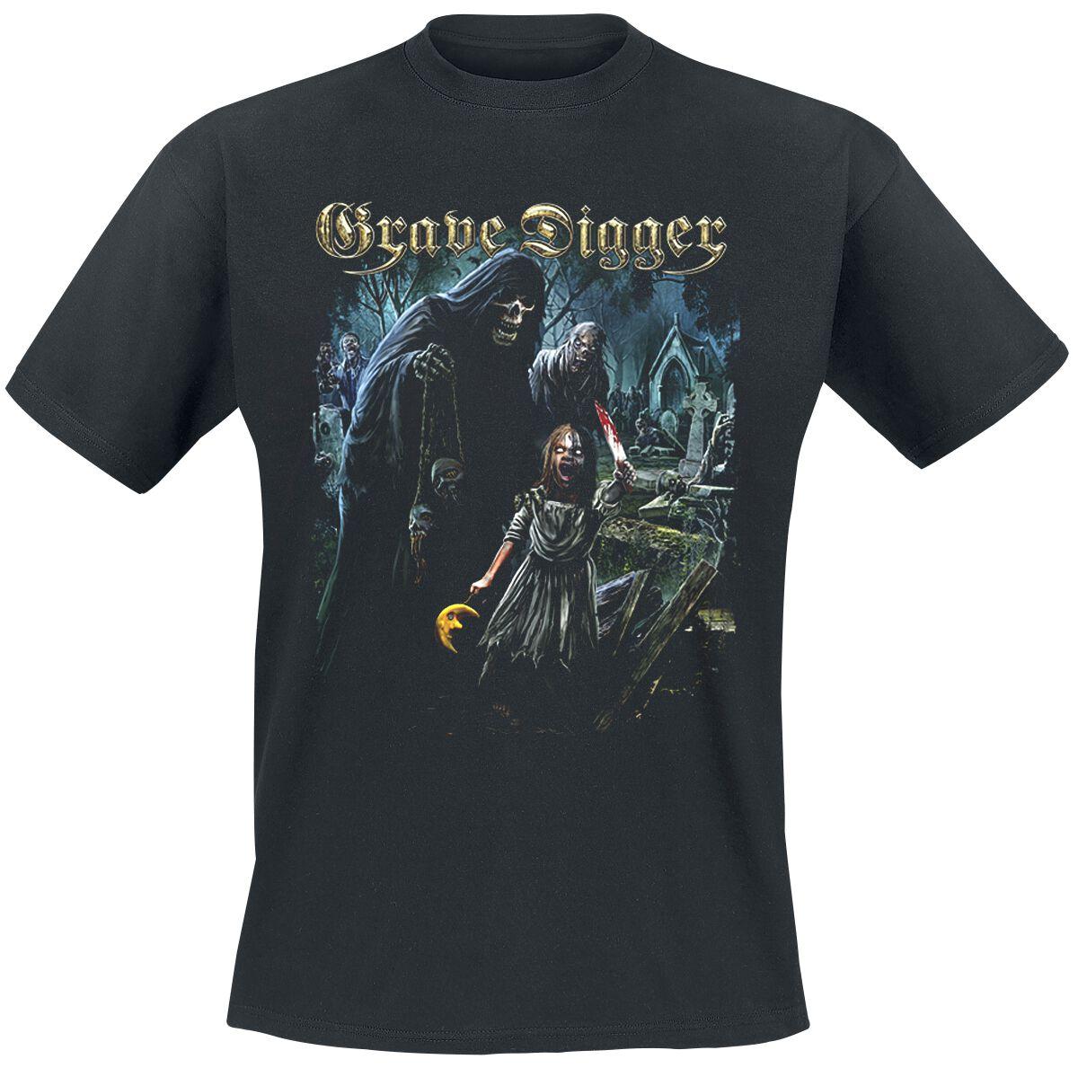 Image of   Grave Digger The Living Dead T-Shirt sort
