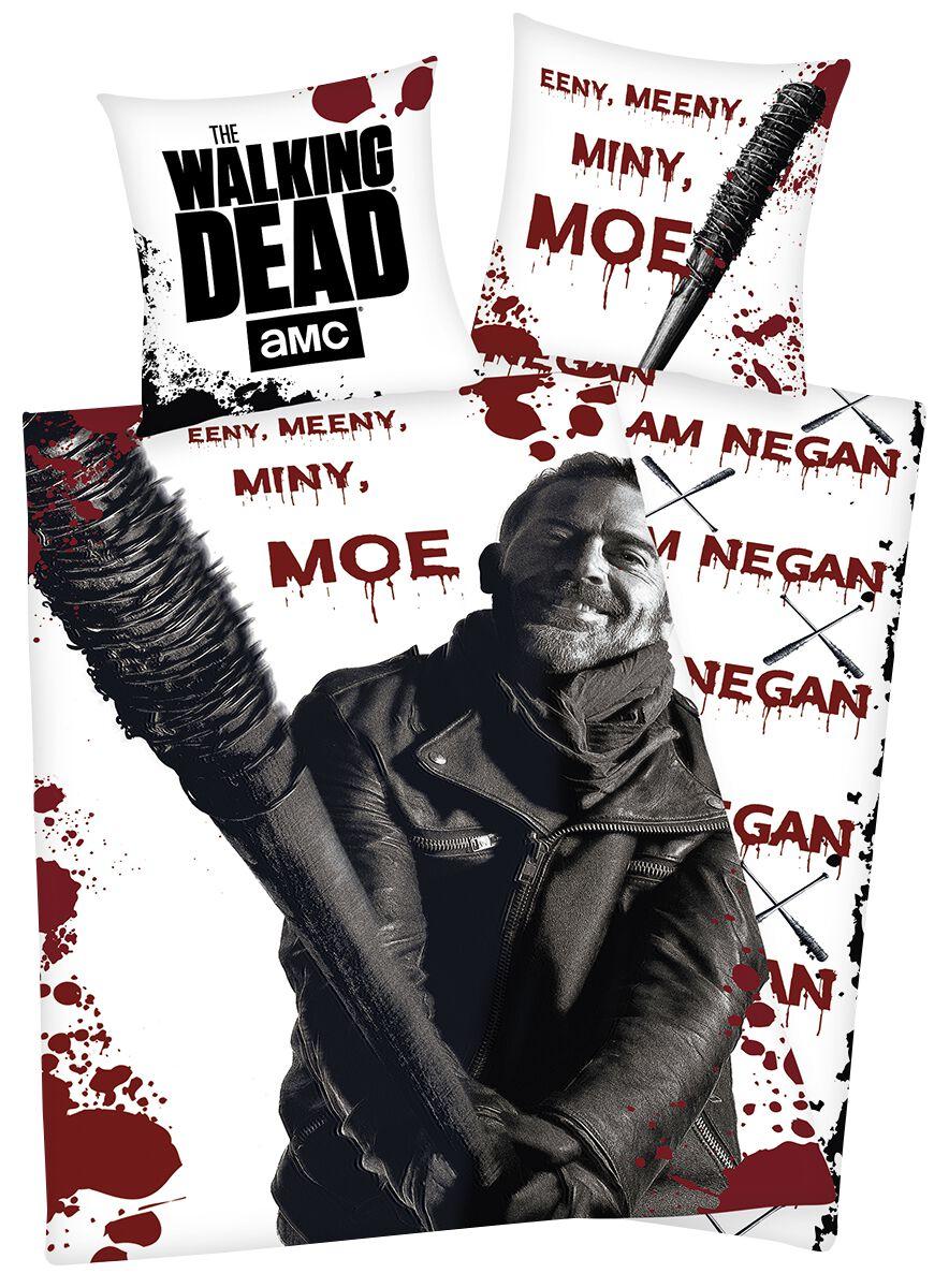 Image of   The Walking Dead Eeny Meeny Miny Moe Sengesæt multifarvet