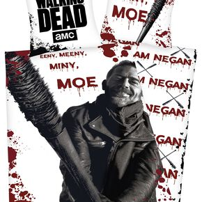 The Walking Dead Eeny Meeny Miny Moe Parure de lit 1 place multicolore