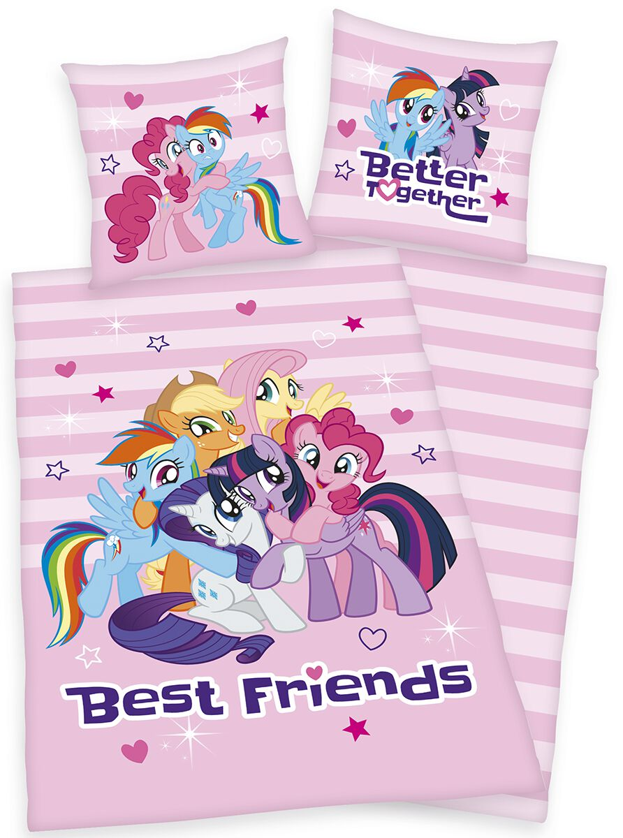 My Little Pony Best Friends Bettwäsche multicolor