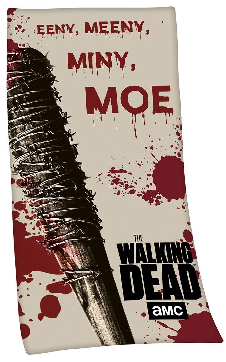 Image of   The Walking Dead Eeny Meeny Miny Moe Badehåndklæde multifarvet
