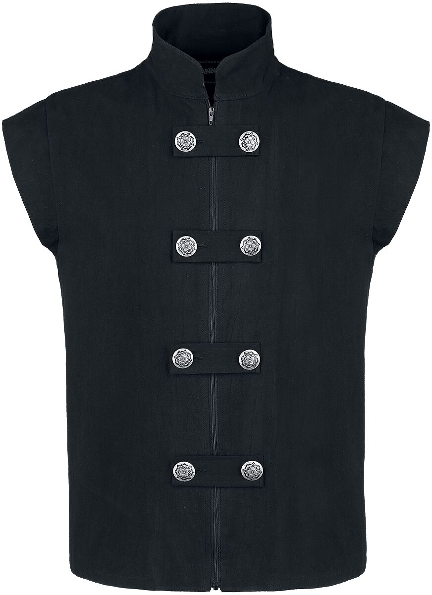 Image of   Banned Alternative Medieval Weste Vest sort