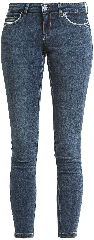 Hosen für Frauen - Noisy May Eve Pocket Piping Jeans Girl Jeans dunkelblau  - Onlineshop EMP