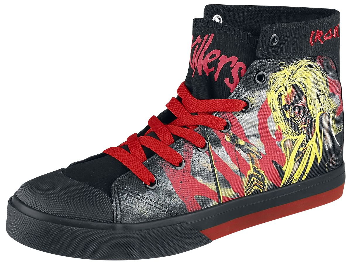 Image of   Iron Maiden EMP Signature Collection Sneakers multifarvet