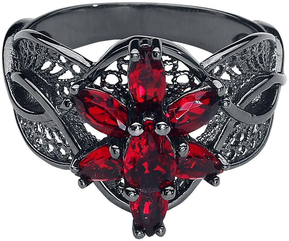 Image of   Ringenes Herre Arwens Aftenstjerne Ring sort