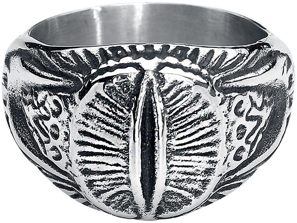 Image of   Ringenes Herre Sauron Ring Ring sølvfarvet
