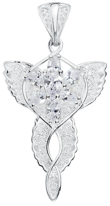 Image of   Ringenes Herre Arwens Aftenstjerne Vedhæng sølvfarvet