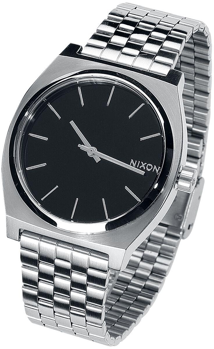 Image of   Nixon Time Teller - Black Armbåndsur sølv-sort