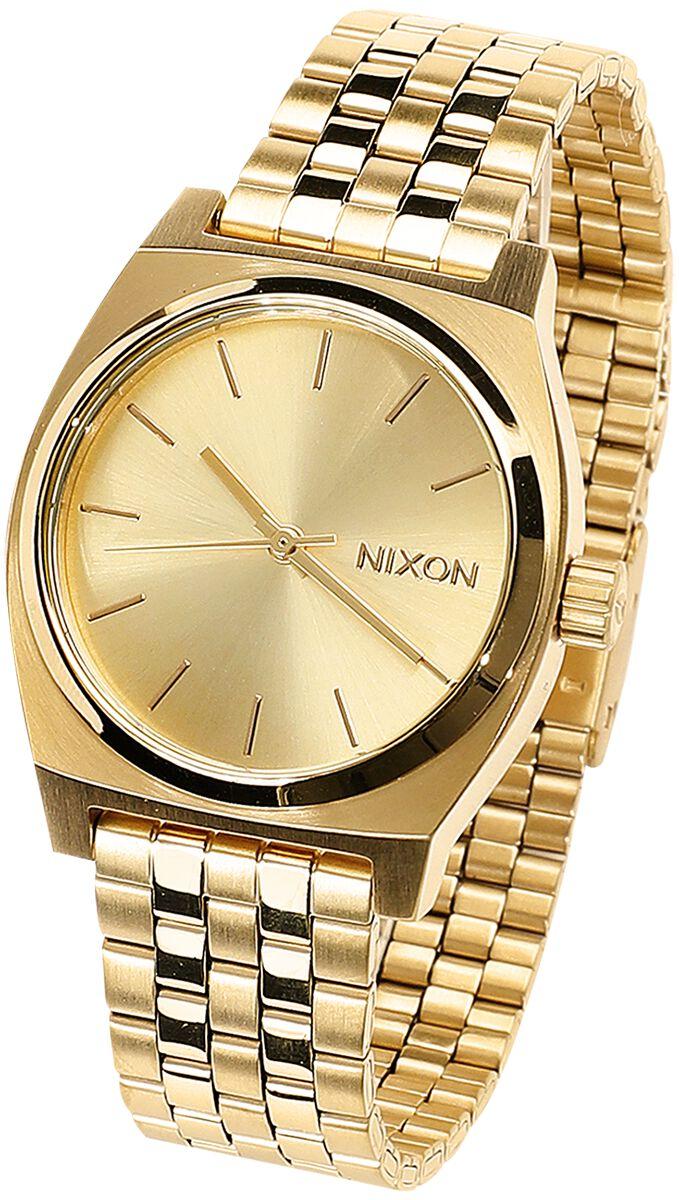 Image of   Nixon Medium Time Teller - All Gold Armbåndsur guld