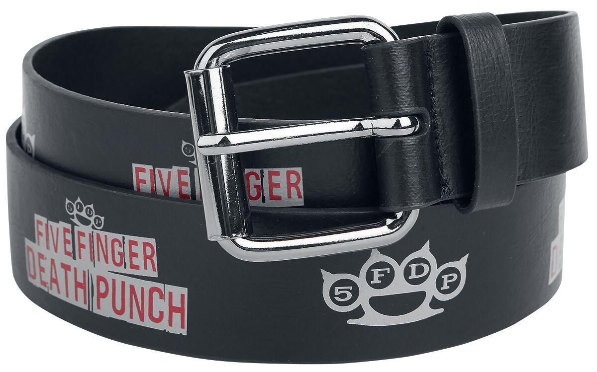 Image of   Five Finger Death Punch Bælte sort