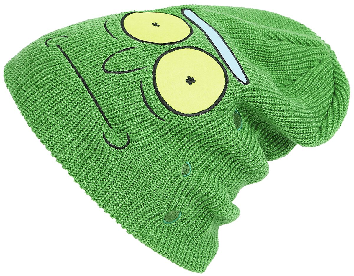 Image of   Rick And Morty Pickle Rick Beanie grøn