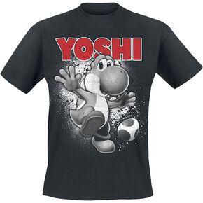 Super Mario Yoshi Ride T-shirt noir