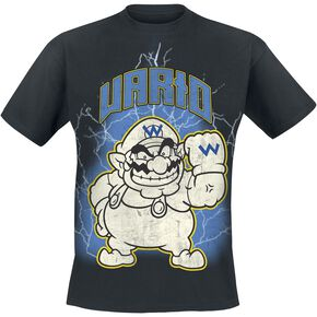 Super Mario Metal Wario T-shirt noir
