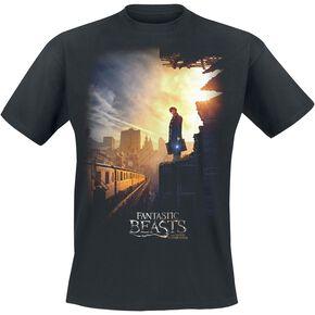 Les Animaux Fantastiques Train T-shirt noir