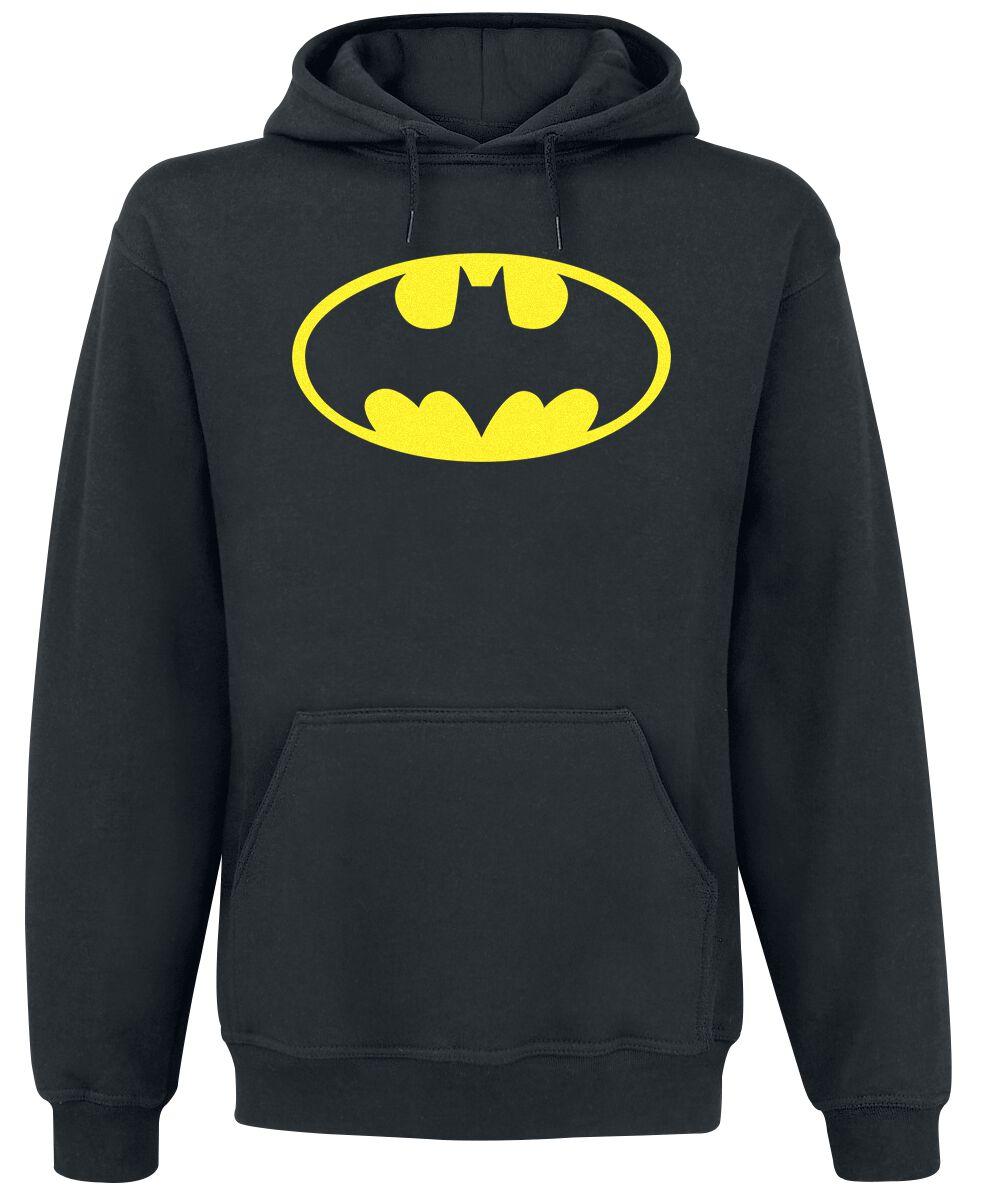 Image of   Batman Logo Hættetrøje sort