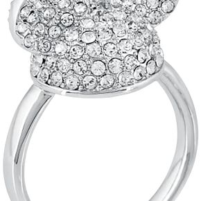 Mickey & Minnie Mouse Disney by Couture Kingdom - Crystal Hat Bague couleur argent