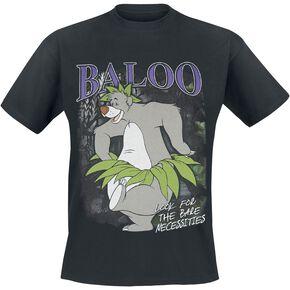 Le Livre De La Jungle Baloo T-shirt noir