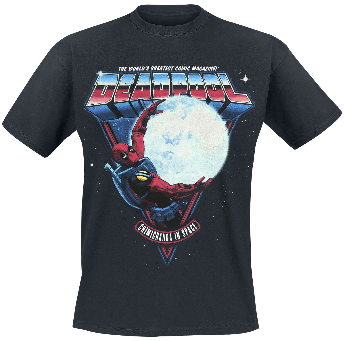 Image of   Deadpool Chimichangas In Space T-Shirt sort