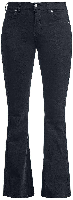 Hosen für Frauen - Dr. Denim Macy Schlaghose Jeans schwarz  - Onlineshop EMP