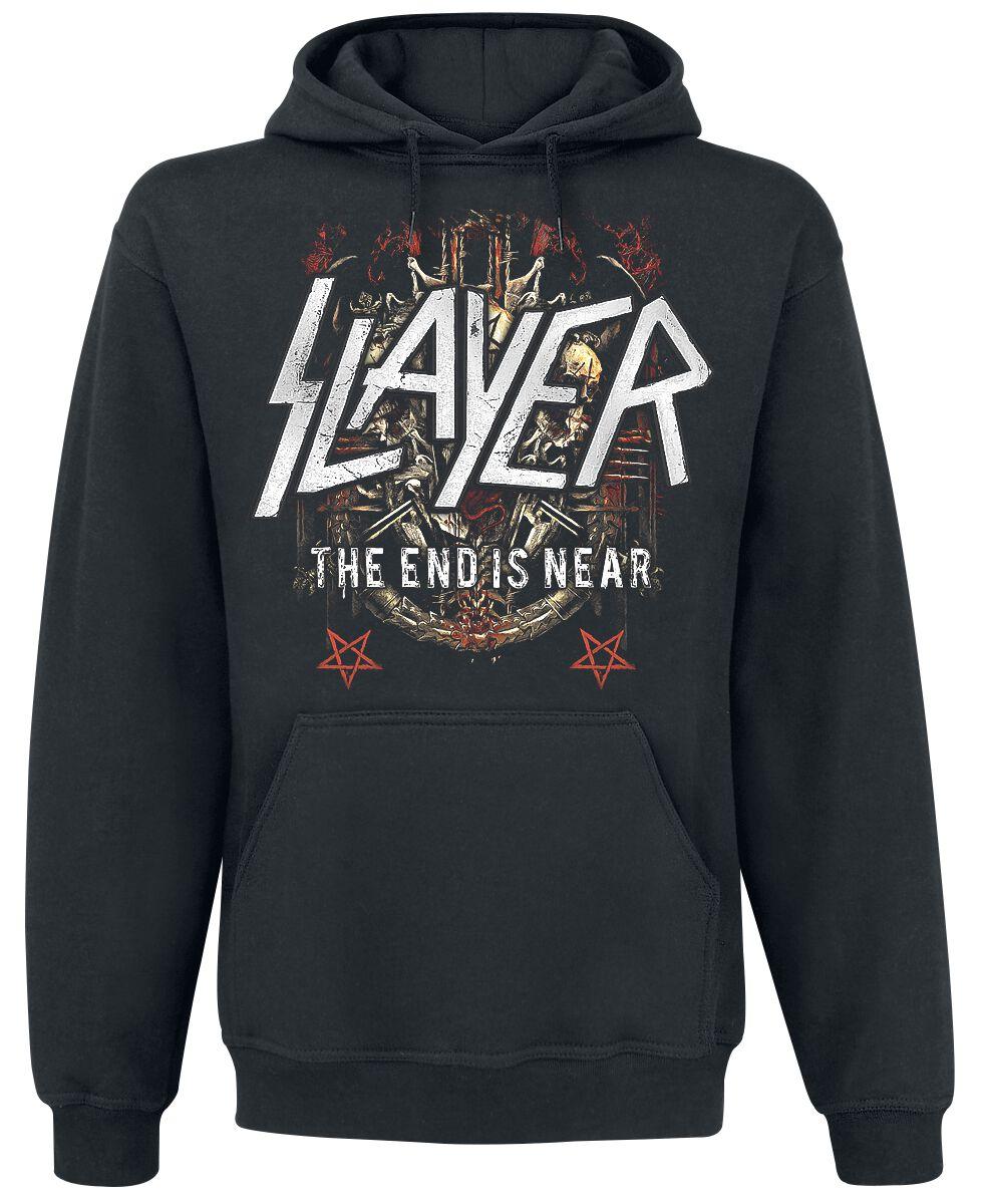 Image of   Slayer Demonic Admat Hættetrøje sort